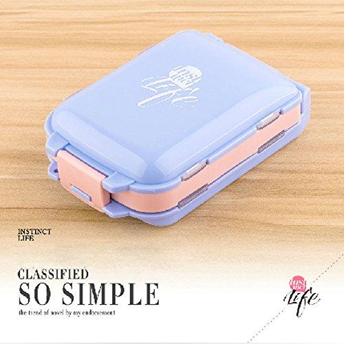 XDOBO Weekly Medicine Storage 7 Day Tablet Pill Sorter Organizer plastic Box Holder Container Medicine Storage