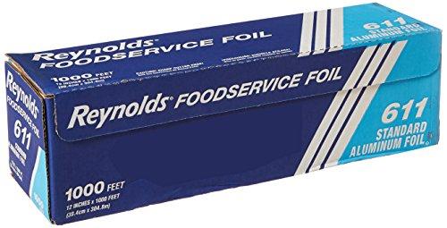 Reynolds Food Packaging RFP611 Sandwich Storage Aluminum Foil Rolls 611 Standard