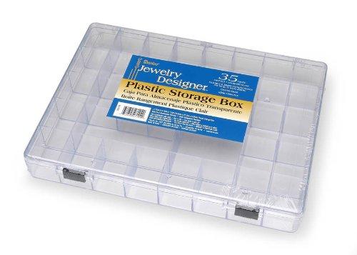 Darice 2025-179 35 Cavity Plastic Storage Box