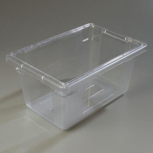 Carlisle StorPlus Polycarbonate Clear Food Storage Box 12 x 18 x 9 inch -- 1 each