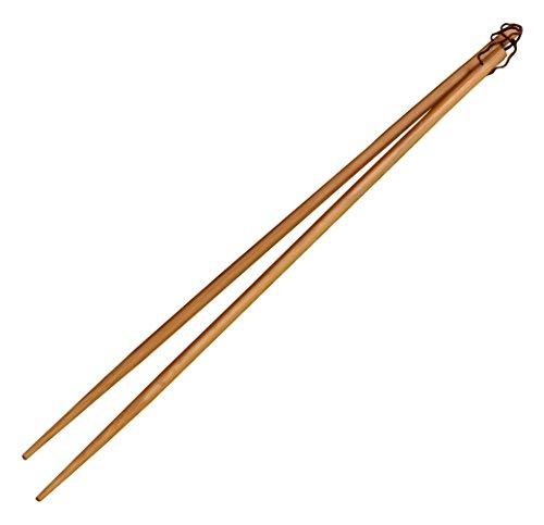 IMUSA USA WPAN-10012 4-Pair Bamboo Cooking Chopsticks 13-Inch Brown
