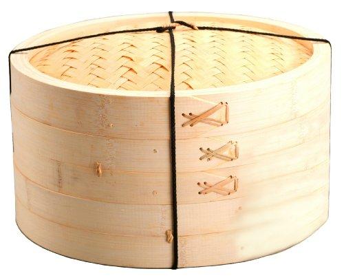 Joyce Chen 3-Piece 10-Inch Bamboo Steamer
