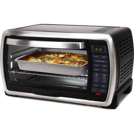 Oster Large Digital Countertop Toaster Oven TSSTTVMNDG
