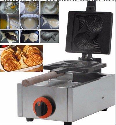 Boshi Electronic Instrument NP-551 Gas Fish Waffle Maker Fish Shaped Waffle Baker Baking Equipment CE Certification