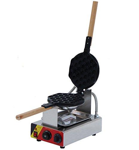 Generic Commercial Use Nonstick 110v 220v Electric 180° Rotating Egg Waffle Baker