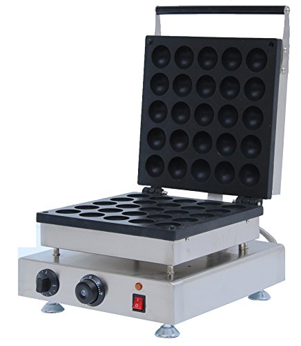 Generic Commercial Use Nonstick 110v 220v Electric 25-cavity 2 Waffle Ball Baker