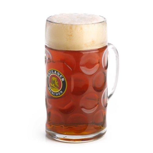 Paulaner 1 Liter Isar Beer Stein