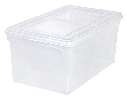IRIS Letter Size File Box Storage Large 5 Pack