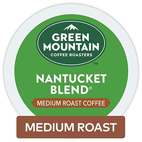 Green Mountain Coffee Nantucket Blend Keurig Single-Serve K-Cup Pods Medium Roast Coffee 96 Count