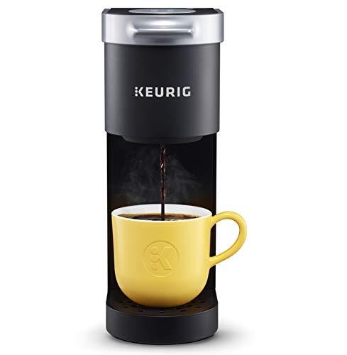 Keurig K-Mini Coffee Maker Single Serve K-Cup Pod Coffee Brewer 6 to 12 oz Brew Sizes Black