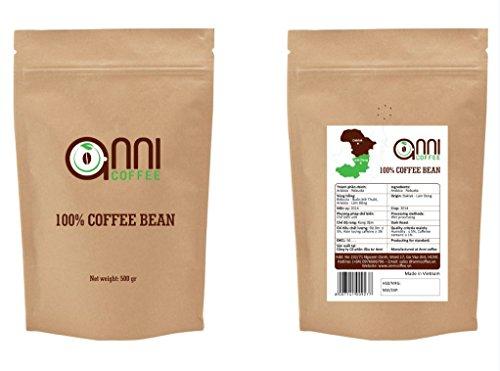 anni COFFEE MEDIUM Roast WHOLE BEAN Strong Vietnamese Coffee Premium Specialty Coffee18 oz