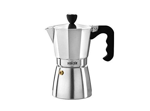 La Cafetiere ES000002 Stovetop Espresso 6-Cup Silver