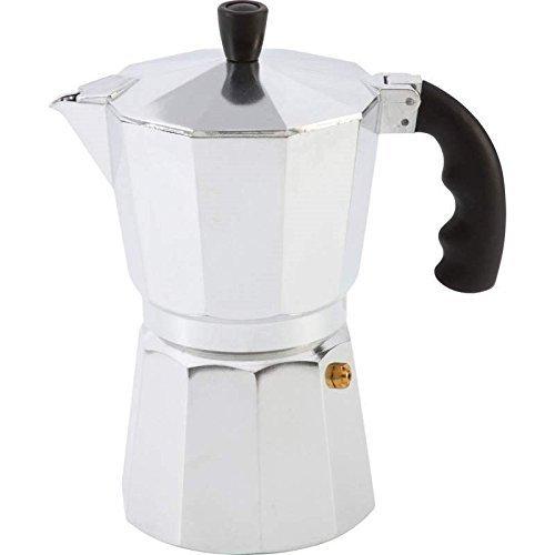 Aluminum 6 Cup Stovetop Espresso Maker Coffee Pot Percolator Brewer Latte Mocha by Electric California