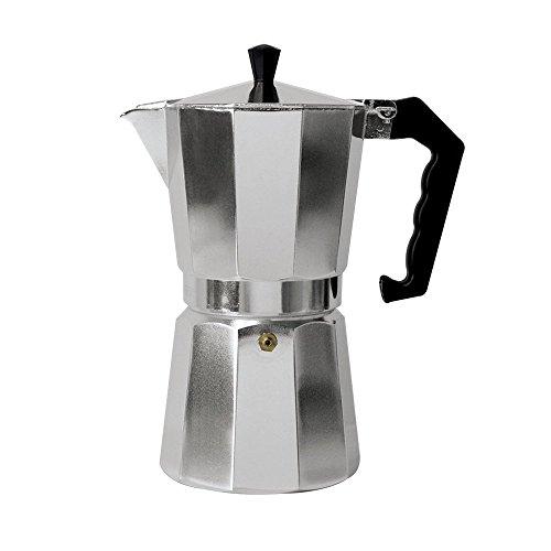 Classic 1-Cup Aluminum Stovetop Espresso Mocha Coffee Maker by Pride Of India