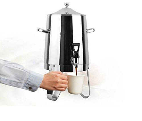 Fixture Displays Dispenser Coffee Urn Large Stainless Steel 13037 13037