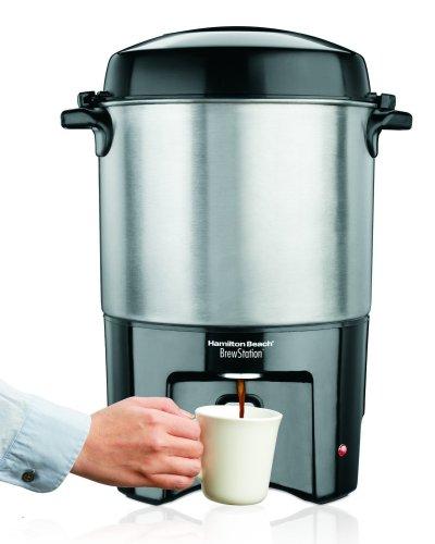 Hamilton Beach 40540 Brew Station 40-Cup Coffee Urn Silver