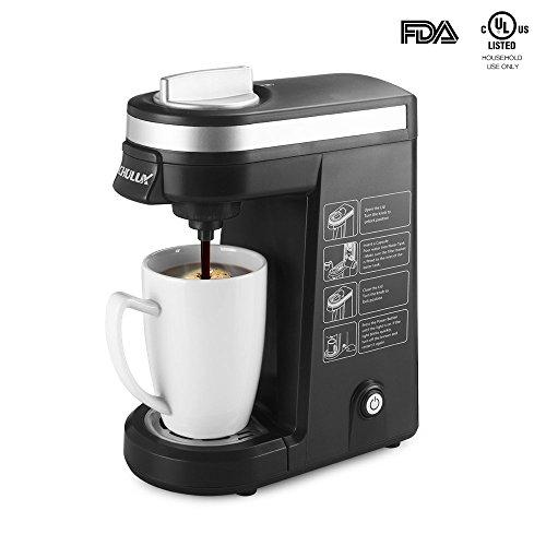 CHULUX Single Serve K-cup Coffee Maker Black