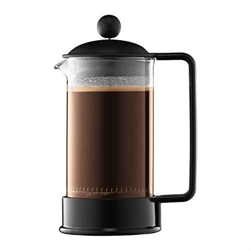 Bodum 1543-01US Brazil French Press Coffee and Tea Maker 12 Ounce Black