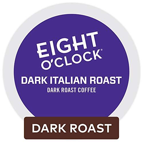 Eight OClock Coffee Eight OClock Coffee Dark Italian Roast Keurig Single-Serve K Cup Pods Dark Roast Coffee 48Count Dark Italian Roast 48Count