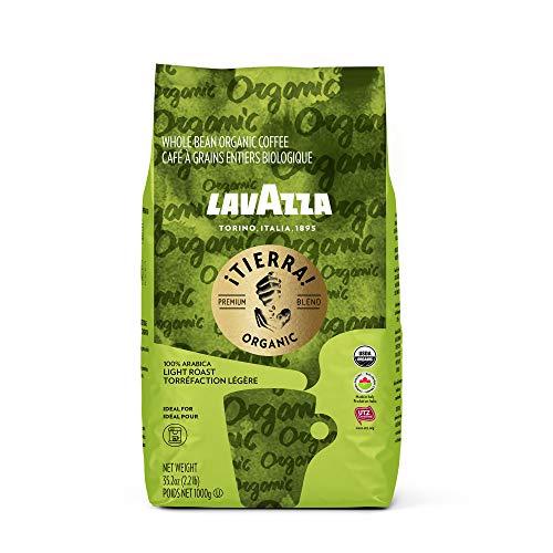 Lavazza Organic Tierra Whole Bean Coffee Blend Italian Roast 22 Pound