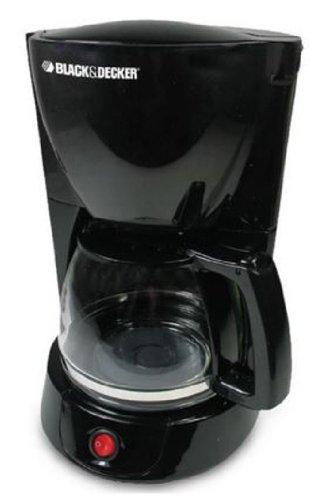 Black Decker DCM600 8-10 Cup Coffee Maker 220V Black
