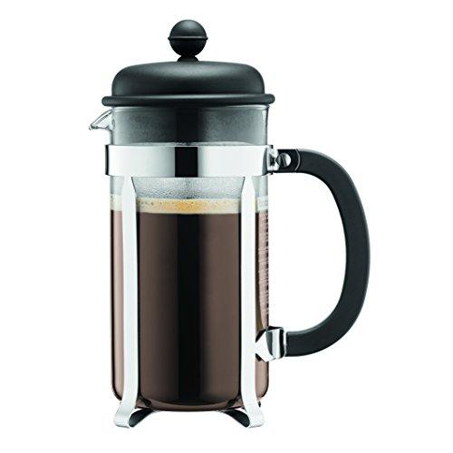 Bodum Caffettiera 1-Liter 8-Cup Coffee Maker 34-Ounce Black