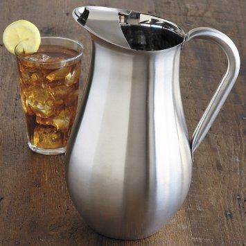 CHEFS Stainless Steel Beverage Pitcher 3 quart