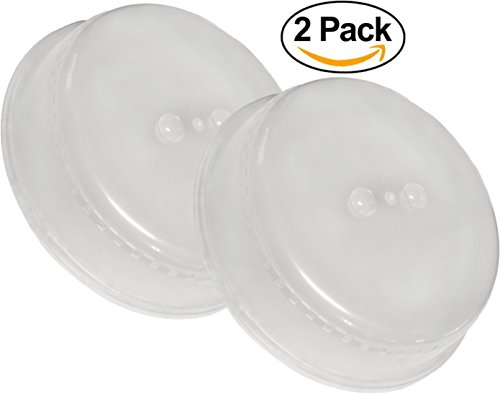 Virtual Elements Microwave Splatter Guard Cover - 2 Pack
