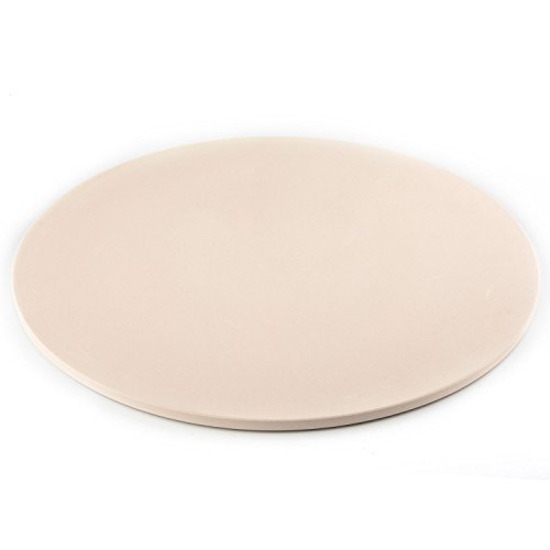 Waykea 12-inch Round Cordierite Baking Pizza Stone for Grill or Oven