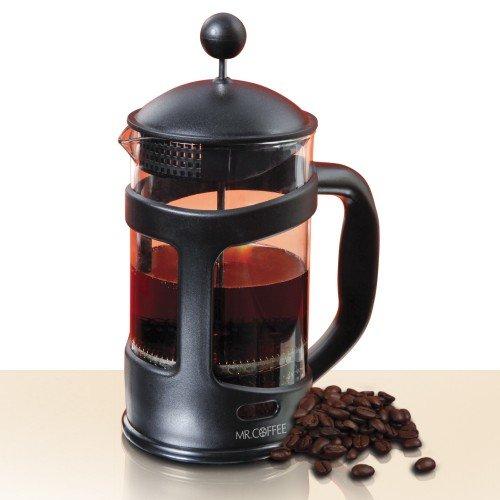 Mr Coffee Brivio 28 oz Coffee Press ~ Protected Glass Carafe