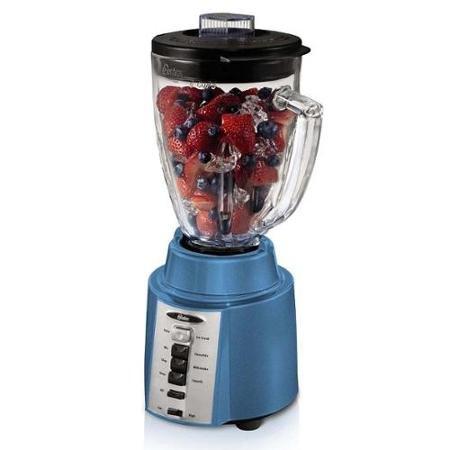 Oster Rapid Blend 300 Plus 8-Speed 6-Cup 700 Watt Blender wBoroclass Glass Jar