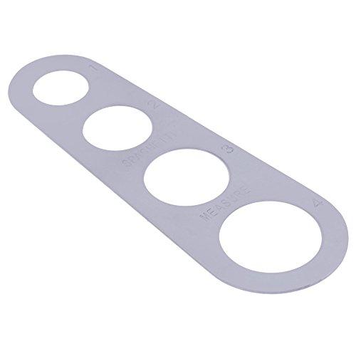 2pcslot Stainless Steel Pasta Spaghetti Measurer Measure Tool Kitchen Gadget Measuring Tool