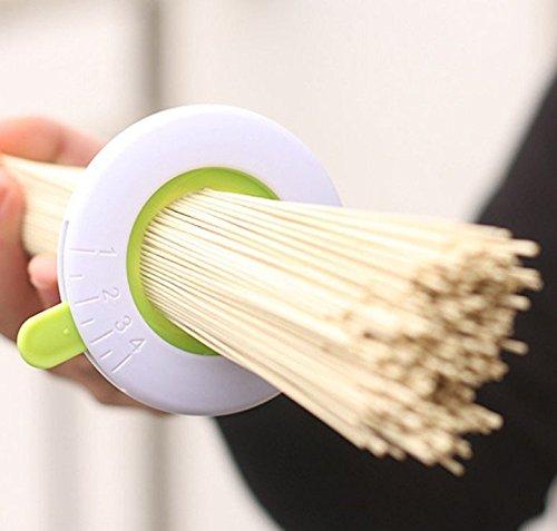 Adjustable Spaghetti Pasta Noodle Measurer White Green