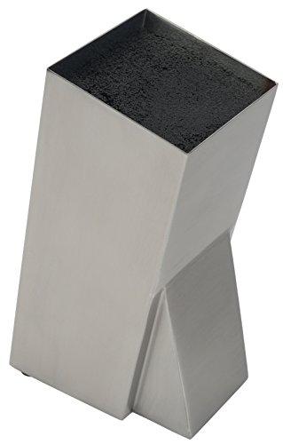 Mantello Universal Stainless Steel Knife Block Knife Holder Storage Organizer