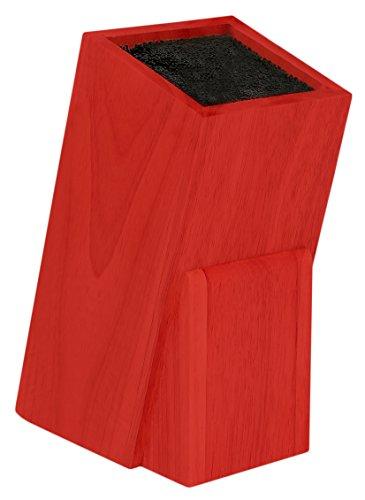 Melange Universal Knife Block Red Wood