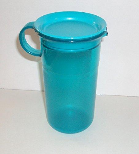 Tupperware Preludio Acrylic Creamer Cream or Milk Pitcher Small 12 Ounce Blue