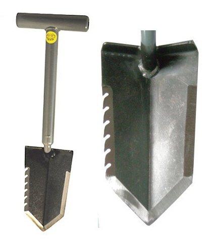Lesche 1V_WWMFG-TH18-SER-L Mini Sampson 18 T-Handle Shovel with Serrated Blade