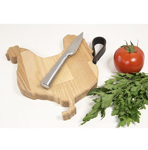 Chicken Chopping Board - Wooden Cutting Board - Rustic Cutting Board - Custom Cutting Board - Exclusive Kitchen Gift - Housewarming Gift