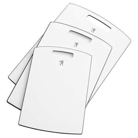 Evaxo 3-Piece Cutting Board Set Gray