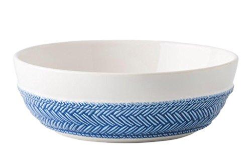 Juliska Le Panier WhiteDelft Blue PastaSoup Bowl
