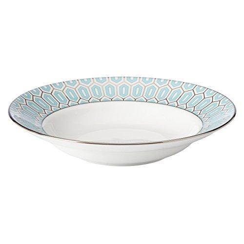 Lenox Brian Gluckstein Clara Aqua PastaSoup Bowl