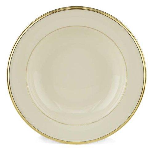 Lenox Eternal Gold Banded Ivory China Pasta BowlRim Soup