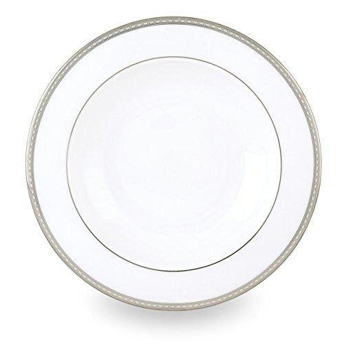 Lenox Murray Hill Platinum Banded Bone China Pasta BowlRim Soup