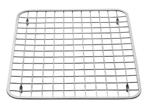 InterDesign Gia Kitchen Sink Protector - Wire Grid Mat Sink Strainer – Regular Polished
