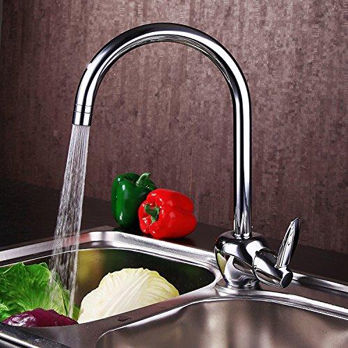 Furesnts Modern home kitchen and bathroom faucet Double-vegetables green kitchen sink taps mixer water valve lift-kaiStandard G 12 universal hose ports