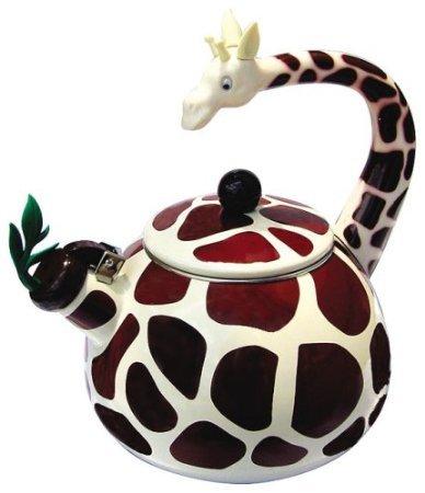 Home-X Giraffe Tea Kettle 24 Quart Whistling Teakettle