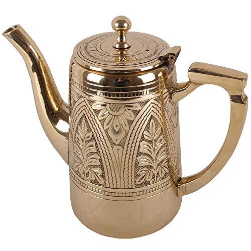 Copper Teapots - Pure Copper Kettle Hand-Made Antique Brass Cast Copper Pot Household Tea Kettle Milk Teapot Coffee Pot