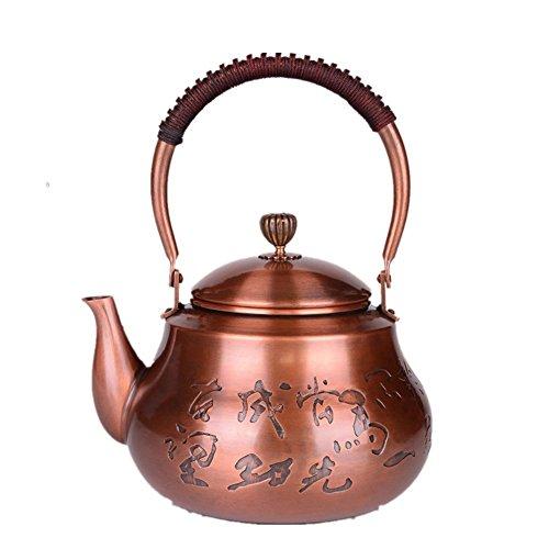 MYMGG High-Grade teapot Japanese Style 15L Copper teapot Exquisite Beautiful Copper
