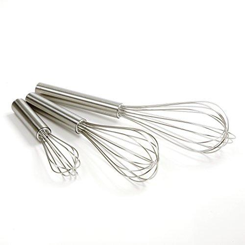 Norpro Balloon Wire Whisk Set of 3 Stainless Steel StirMixBeat 6 8 10