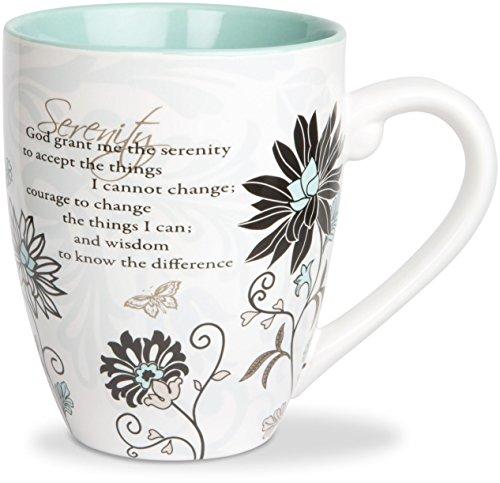 Pavilion Gift 66311 Mark My Words 4-34-Inch Serenity Mug 20-Ounce